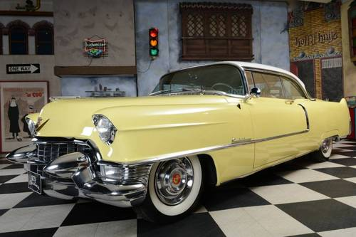 For Sale 1955 Cadillac Deville Coupe | Clic Cars HQ.