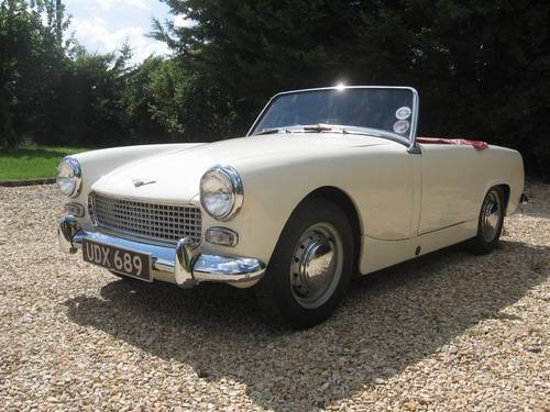 for sale 1962 austin healey sprite mkii in old english white classic cars hq. Black Bedroom Furniture Sets. Home Design Ideas