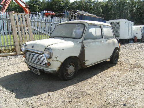 For Sale 1969 Morris Mini Cooper Restoration Project