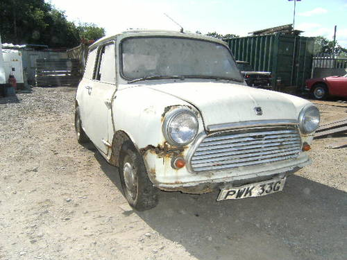 For Sale 1969 Morris Mini Cooper Restoration Project Classic Cars Hq