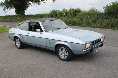 For Sale 1975 Capri Mk 2 3 Litre Ghia With Power Steering