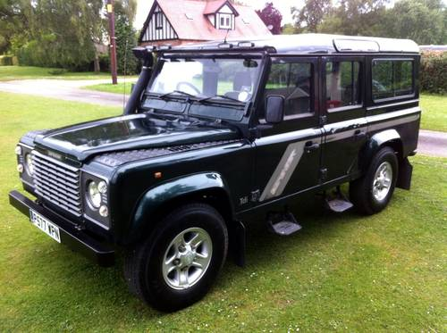 for sale 1997 defender 110 300tdi county station wagon 11 seat classic cars hq. Black Bedroom Furniture Sets. Home Design Ideas