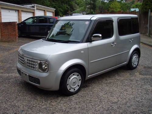 Used 2002 Nissan Cube 1.4 BZ11 for sale in Surrey ...  |2002 Nissan Cube
