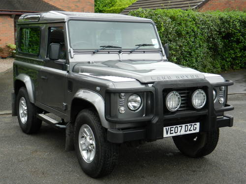 For Sale 2007 07 Land Rover Defender 90 Tdci Xs Station