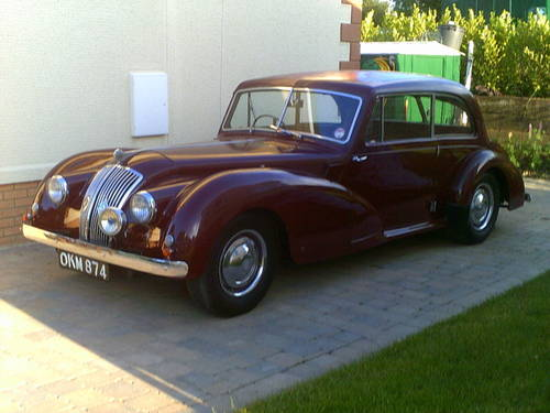 for sale a 1952 ac 2 litre two door saloon by auction classic cars hq. Black Bedroom Furniture Sets. Home Design Ideas