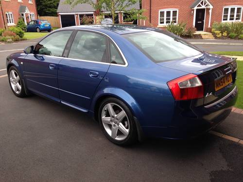 for sale audi a4 1 9 tdi sport diesel low mileage 2004 classic cars hq. Black Bedroom Furniture Sets. Home Design Ideas