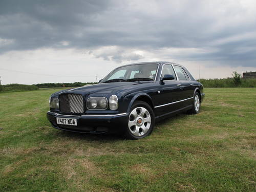 bentley arnage red label 66000 miles for sale (1999) | classic cars hq.
