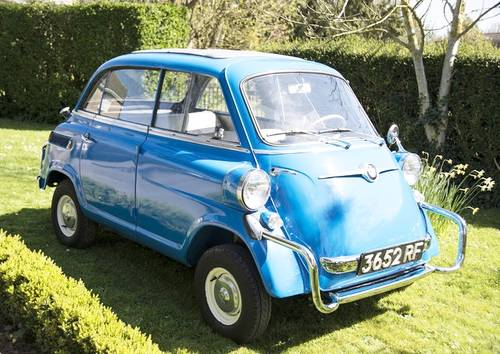 1959 for sale bmw isetta 600 classic cars hq. Black Bedroom Furniture Sets. Home Design Ideas