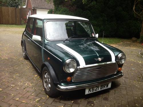 for sale 1992 classic mini cooper 1 3i classic cars hq. Black Bedroom Furniture Sets. Home Design Ideas