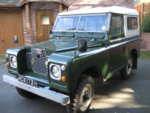 For Sale Classic Series 2a Landrover Diesel 1969