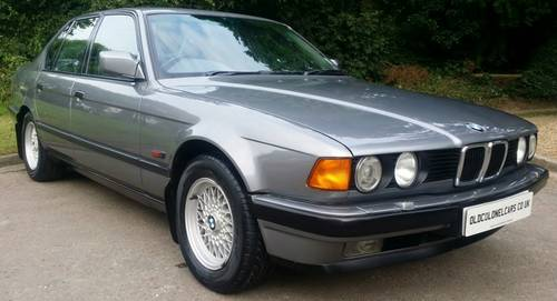 for sale e32 730 se only 82000 23 bmw stamps years mot warranty 1991 classic cars hq. Black Bedroom Furniture Sets. Home Design Ideas
