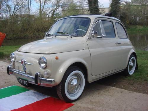 For Sale Fiat 500f Concours Fully Restored 14k Mil 1967