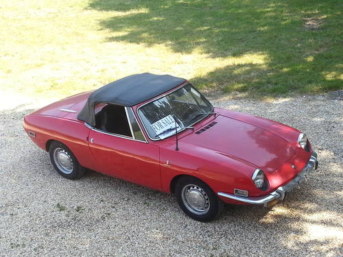 for sale fiat 850 spider sport 1971 classic cars hq. Black Bedroom Furniture Sets. Home Design Ideas
