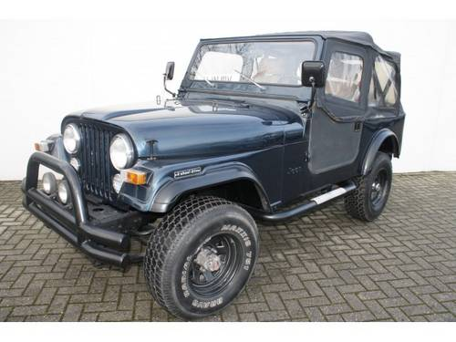 for sale 1980 jeep cj 7 4 wheel drive classic cars hq. Black Bedroom Furniture Sets. Home Design Ideas
