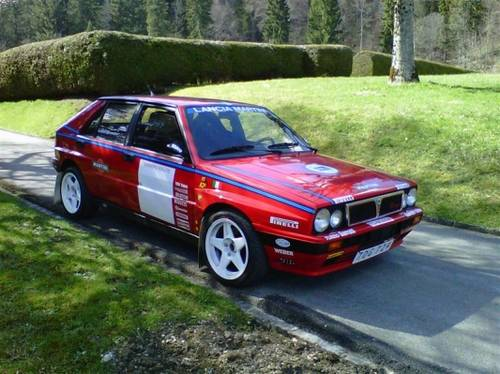 for sale lancia delta hf intergrale turbo 1988 classic cars hq. Black Bedroom Furniture Sets. Home Design Ideas