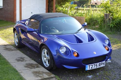 For Sale (1999) Lotus Elise S1
