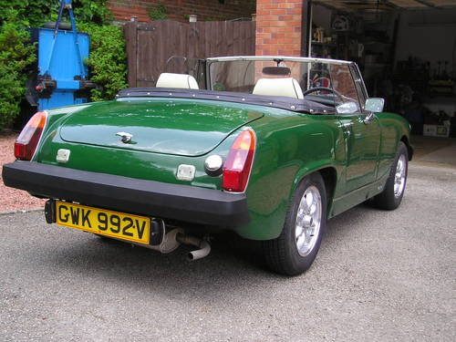 Mg midget shell for sale