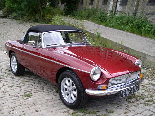 Classic Cars For Sale Mgb Gt V