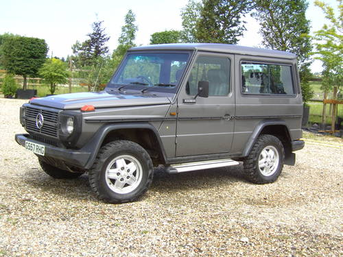 for sale 1989 mercedes benz g 300 cdi m2 g reg g wagen classic cars hq. Black Bedroom Furniture Sets. Home Design Ideas