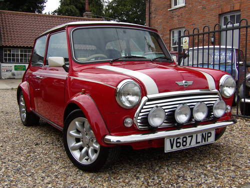 for sale 2001 mini cooper sport genuine 10k from new stunning classic cars hq. Black Bedroom Furniture Sets. Home Design Ideas