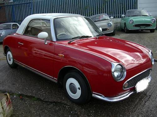 for sale nissan figaro 1 0 turbo fully restored 1991 classic cars hq. Black Bedroom Furniture Sets. Home Design Ideas