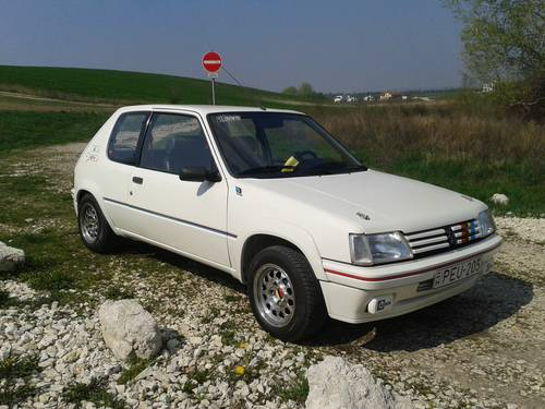 for sale 1990 peugeot 205 1 3 rallye 103ps lhd toprestored classic cars hq. Black Bedroom Furniture Sets. Home Design Ideas