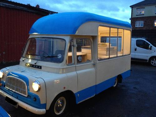 For Sale RARE CLASSIC VINTAGE BEDFORD CA ICE CREAM VAN CF 1969