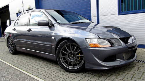 for sale 2005 rare mitsubishi evo mr qf 320 classic. Black Bedroom Furniture Sets. Home Design Ideas