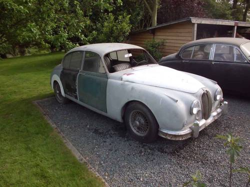 for sale very early jaguar mk2 3 8 litre for restoration 1959 classic cars hq. Black Bedroom Furniture Sets. Home Design Ideas