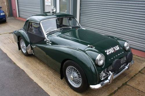 For Sale 1958 Triumph TR3a Works Replica Rally Car | Classic Cars HQ