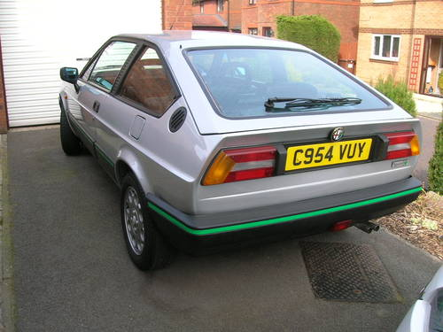 For Sale ALFA ROMEO ALFASUD SPRINT GREEN CLOVERLEAF Classic - Alfa romeo alfasud for sale
