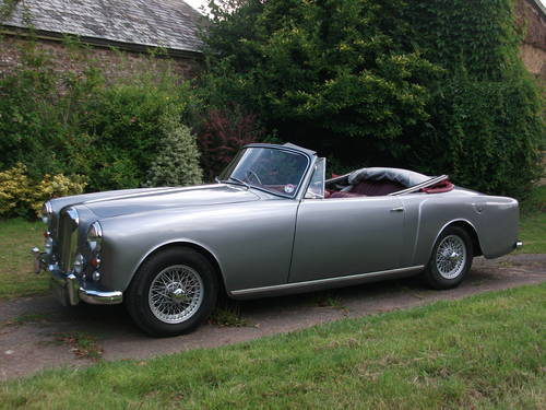 for sale 1960 alvis td 21 series 1 convertible manual gearbox classic cars hq. Black Bedroom Furniture Sets. Home Design Ideas