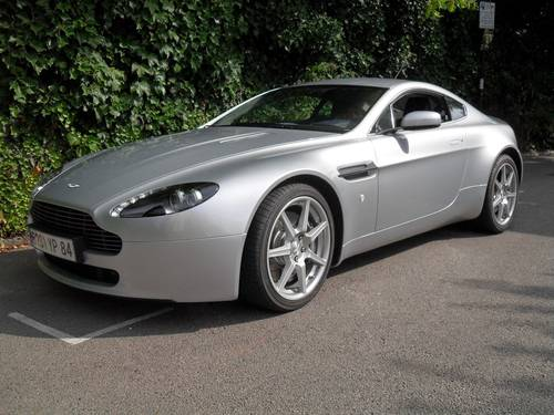 For Sale Aston Martin V Vantage Classic Cars HQ - 2007 aston martin v8 vantage