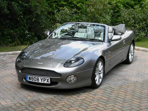 For Sale By Auction Aston Martin DB Vantage Volante Classic - Aston martin db 7 for sale