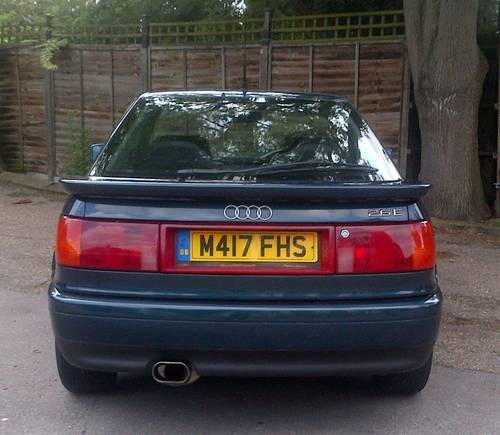 For Sale (1995) Rare Audi Coupe 2.6 E V6