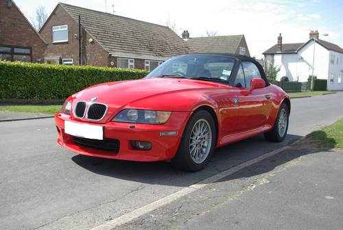 For Sale 1997 Hell Red Bmw Z3 2 8 Wide Boy Classic