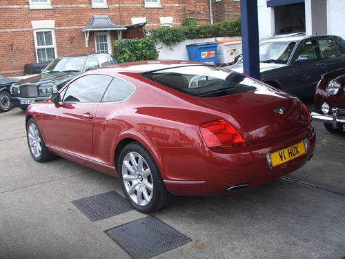 for sale 2005 bentley continental gt coupe classic cars hq. Black Bedroom Furniture Sets. Home Design Ideas