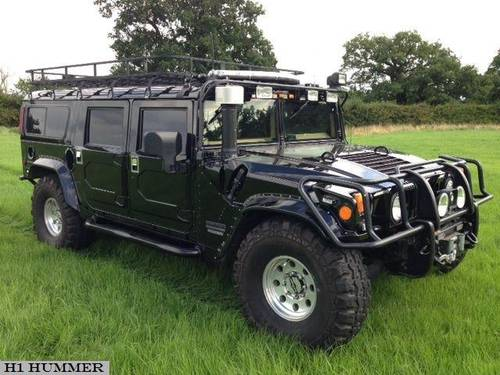 for sale hummer h1 police spec 2000 automatic diesel classic cars hq. Black Bedroom Furniture Sets. Home Design Ideas