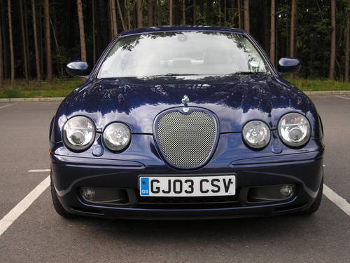 for sale 2003 jaguar s type r v8 supercharged classic. Black Bedroom Furniture Sets. Home Design Ideas