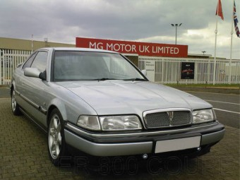 for sale rover 800 sterling coupe vitesse alloys low miles 1998 classic cars hq. Black Bedroom Furniture Sets. Home Design Ideas