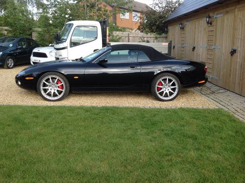 for sale 2004 xkr convertible black classic cars hq. Black Bedroom Furniture Sets. Home Design Ideas