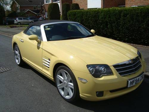 for sale 2004 chrysler crossfire convertible classic cars hq. Black Bedroom Furniture Sets. Home Design Ideas