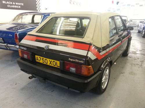 for sale 1984 fiat strada cabrio very rare and in amazing condition classic cars hq. Black Bedroom Furniture Sets. Home Design Ideas