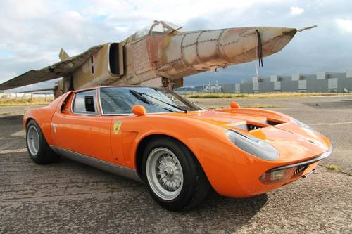 For Sale 1969 Lamborghini Miura S Jota Classic Cars Hq