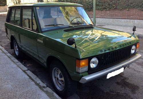 for sale 1976 range rover 2 doors classic lhd classic cars hq. Black Bedroom Furniture Sets. Home Design Ideas