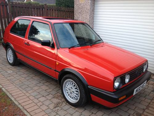 for sale mk2 golf gti 16v excellent example 99960 miles 1990 classic cars hq. Black Bedroom Furniture Sets. Home Design Ideas