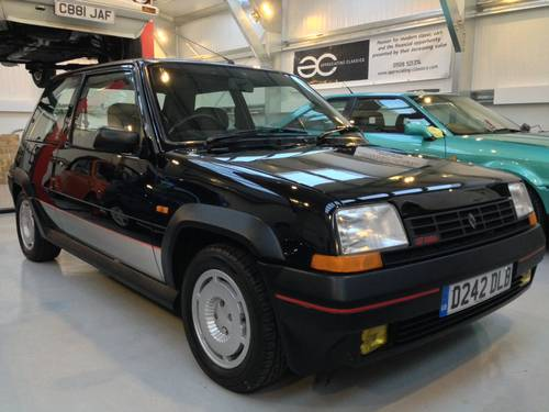 for sale phase 1 renault 5 gt turbo 34k miles full history 1987 classic cars hq. Black Bedroom Furniture Sets. Home Design Ideas