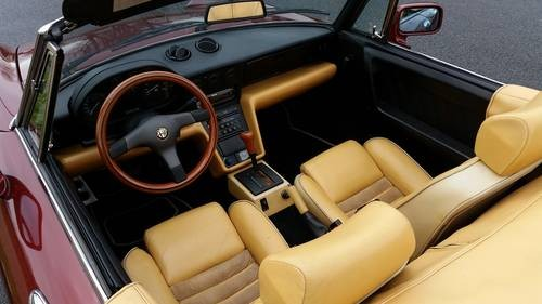 For Sale Alfa Romeo Spider S Automatic With Air Con - 1991 alfa romeo spider for sale