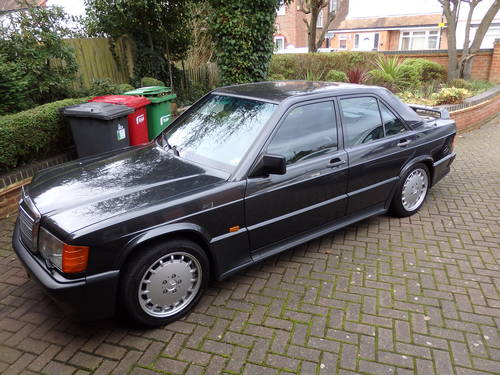 for sale mercedes benz 190e 2 3 16v 87 000 miles 1986. Black Bedroom Furniture Sets. Home Design Ideas