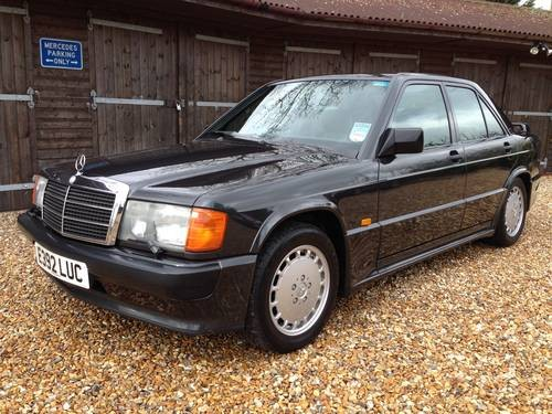 For sale mercedes 190e 2 3 16 valve cosworth 201 series for Mercedes benz 190e 2 3 16 for sale
